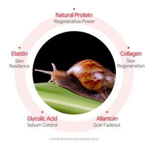 snail mucin benefits