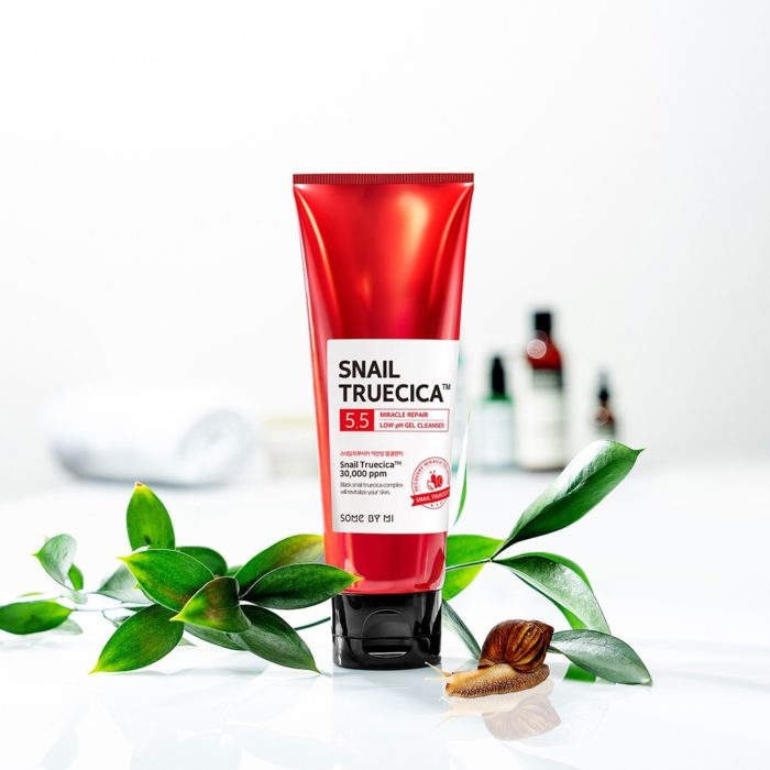 Somebymi Snail Truecica Miracle Repair Low PH Gel Cleanser